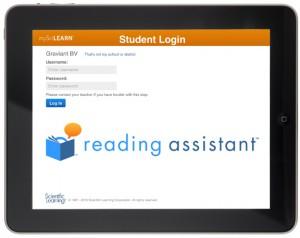 Reading Assistant iPad